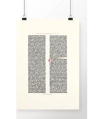 poster gutenberg bible