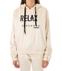 john richmond felpa donna sweatshirt reformed uwa20049fe
