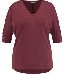 samoon blouse 371612 / 26530 bordeau - size 46 / extra 1