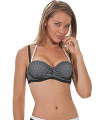 nicole olivier badmode bikini top berenice zwart 5238