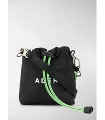 ader error logo print shoulder bag