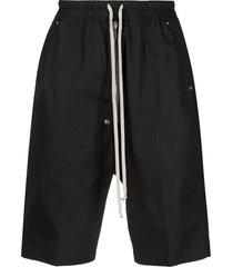 rick owens bela pods bermuda jersey shorts