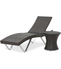 aldin 2-pc. lounge with table set