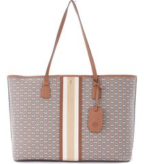 tory burch gemini link leather shoulder bag with zip