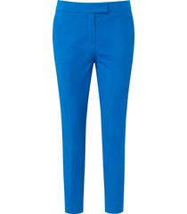 7/8-broek in zachte kwaliteit met stretcheffect van laura biagiotti roma blauw
