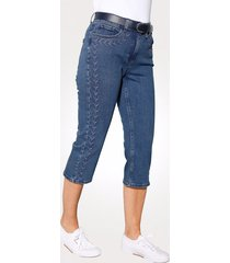 capri-jeans mona donkerblauw