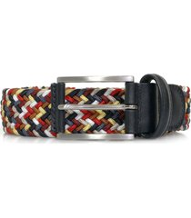 anderson woven braided belt | multi | af3689 056