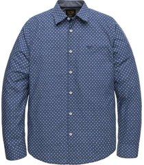 long sleeve shirt melange print