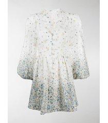 zimmermann carnaby floral print dress