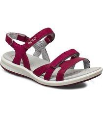 cruise ii shoes summer shoes flat sandals rosa ecco