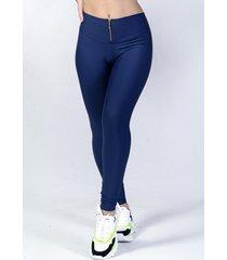 calça legging yasmin lingerie leg22 azul marinho