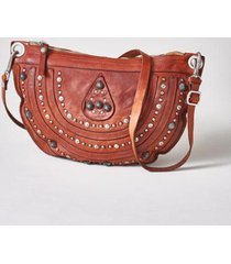 sundance catalog women's catullo clutch bag in cognac