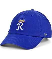 '47 brand kansas city royals on-field replica clean up cap