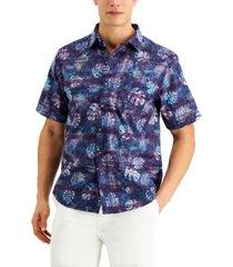 tommy bahama men's bahama batik camp shirt