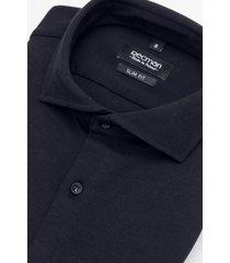 koszula formento 3007 długi rękaw slim fit czarny