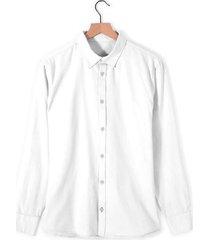 camisa natalie para mujer - blanco