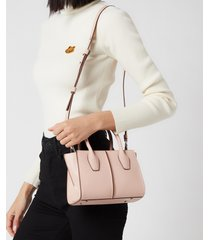 tod's women's mini shopping tote bag - rosa kiss