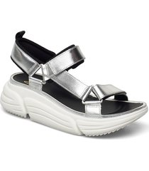 tricomet go shoes summer shoes flat sandals silver clarks