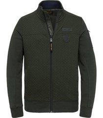 zip jacket structure sweat