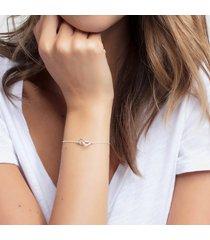 thomas sabo women's bracelet heart - silver