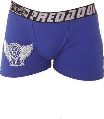 cueca vip lingerie boxer em algodã£o com estampa azul - azul - menino - algodã£o - dafiti