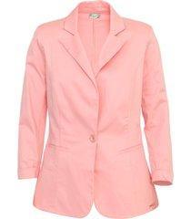 blazer colcci liso rosa - kanui