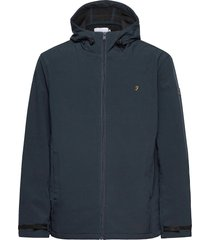 bective soft shell hooded jacket tunn jacka blå farah