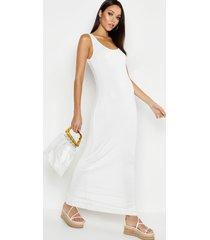 tall basic maxi dress, ivory