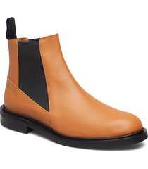 clivia vacchetta shoes chelsea boots brun atp atelier