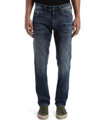 men's mavi jeans marcus slim straight leg jeans, size 36 x 32 - blue