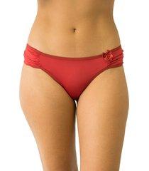calcinha tanga encontro casual qtal lingerie básico vermelho