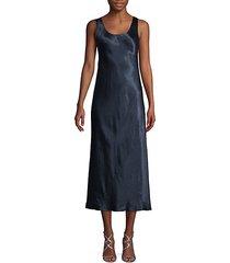 bias midi flare dress