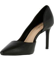 zapato cuero eria negro mujer nine west