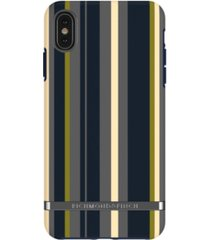 richmond & finch navy stripes case for iphone xs max