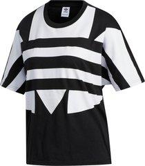 camiseta adidas lrg logo originals preto
