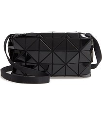 bao bao issey miyake carton crossbody bag - black