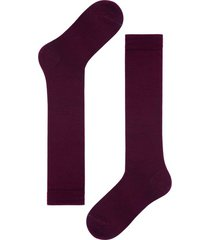 calzedonia tall wool and cotton socks man burgundy size 42-43