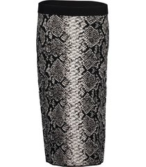 black and white rutha pencil skirt