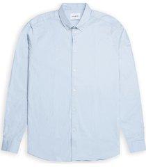 woodbird trime l/s shirt 1916-714 light blue