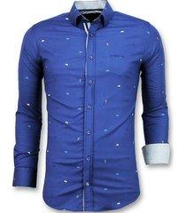 getailleerde overhemden mannen - bicycle blouse heren