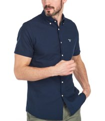 barbour men's tailored oxford shirt