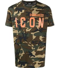 icon camouflage t-shirt