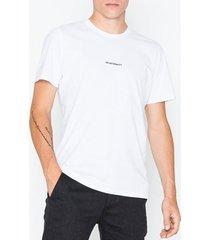 nn.07 ethan print tee 3208 t-shirts & linnen white