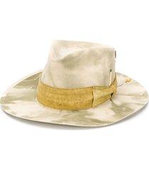 nick fouquet samos camouflage hat - neutrals