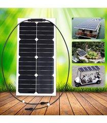 panel de 25w 18v elfeland solares sunpower mono cargador de batería de la rejilla para barco y rv - no especificado
