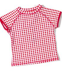 t-shirt plażowo-kąpielowy z filtrem uv 50+ stars