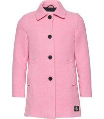 a-line short coat gi jack jas roze calvin klein