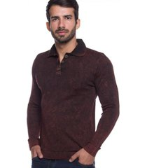 camisa polo basic le tisserand vermelho stone