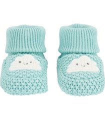 carter's baby boys and girls cloud booties