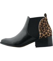 botin stivali alicante negro x cheetah